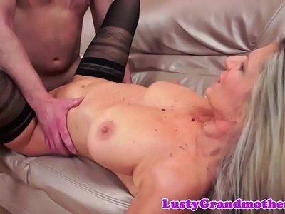 busty   cock   gilf   granny   sexy   stockings