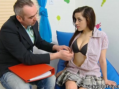 old and young  teacher  teen