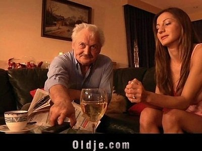 cum  fuck  licking  old man  pussy  swallow