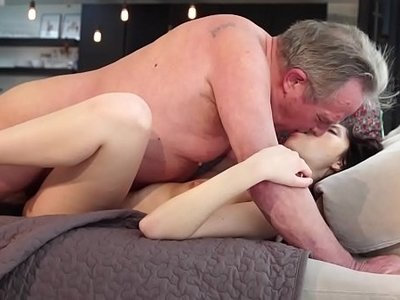 fuck  girlfriend  grandpa  innocent  old and young  sweet